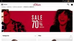 S.Oliver цены упали до 70%