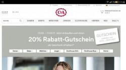 C&A, Гутшайн на 20% скидки.
